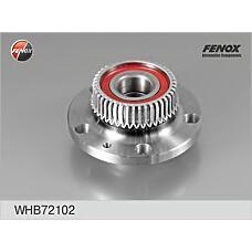 FENOX WHB72102 (1J0598477 / 1J0501477A / 1J0501477) к-кт подшипника ступицы задней со ступицей,с abs\ VW Golf (Гольф) 97> / Bora (Бора) 98-05,Skoda (Шкода) oktavia 96>