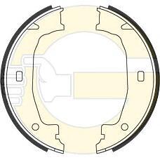GIRLING 5184322 (34416761290 / 34411165968 / 34416755273) колодки ручника BMW (БМВ) e81 e87 e46 e90 00-  160x20mm