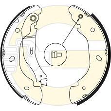 GIRLING 5186894 (4110585 / 4095038 / 4540771) колодки тормозные барабан. Ford (Форд) Transit (Транзит) 00->  254x52
