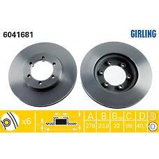 GIRLING 6041681