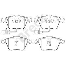 BRECK 237620070110 (4B0698151AC / 4B0698151R / 4B0698151Q) передние Audi (Ауди) a6 2.4 / 2.7 / 3.0 / 2.5tdi quattro 01>