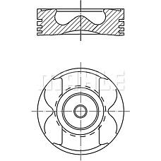 MAHLE 0045700 (6110301417 / 6130300217 / 6110300717) Поршень, комплект Mercedes-Benz