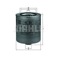 MAHLE ORIGINAL KC33 (13322243018) фильтр топливный BMW (БМВ) e30 / e34 2.4td