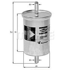 MAHLE KL2 (1H0201511 / 1H0201511A / 251201511A) фильтр топливный