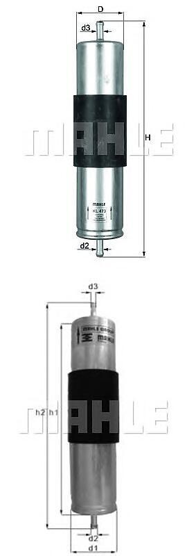 Фильтр топливный BMW X5 (E53) 3.0D