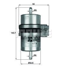 MAHLE KLH29/1 (16126764348) фильтр топливный