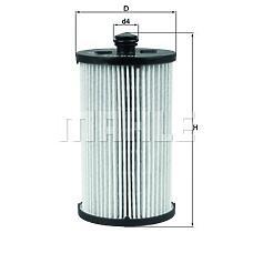 MAHLE KX222D (2E0127159 / 2E0127177 / 2E0127399) фильтр топливный
