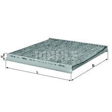 MAHLE ORIGINAL lak131 (87139YZZ03 / 8713933010 / 0897400830) фильтр салонный (угольный) toyota