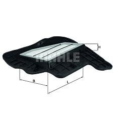 MAHLE ORIGINAL LX1685/5 (13717577457) фильтр воздушный BMW (БМВ) x5(e70) / f01 / f10 v=5.0 правый