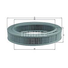 MAHLE ORIGINAL lx203 (93152971 / 834801 / 834257) фильтр воздушный opel