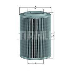 MAHLE ORIGINAL lx314 (044129620) фильтр воздушный VW