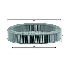 MAHLE ORIGINAL LX449 (6149393 / 87YF9601AA / 25062314) фильтр воздушный