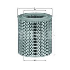 MAHLE ORIGINAL lx478/1 (1444A1 / 144409 / 5983899) фильтр воздушный Fiat (Фиат) iveco