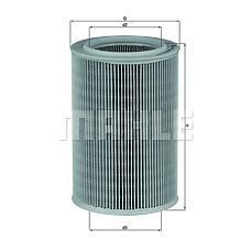 MAHLE ORIGINAL LX587 (7700858930) фильтр воздушный renault