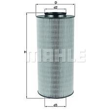 MAHLE LX918 (6N0129620A / 6N0129607C / 6N0129607C6N0129620A) фильтр воздушный