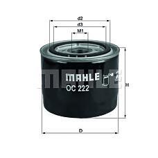 MAHLE ORIGINAL oc222 (46519728 / 60814435 / 34676320) фильтр масляный volvo