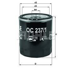 MAHLE ORIGINAL oc237/1 (LPW100230 / LPW100180 / AHU2880) фильтр масляный rover