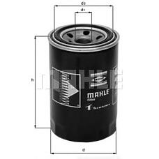 MAHLE ORIGINAL oc274 (MD069782 / MZ690071 / 2630042010) фильтр масляный Mitsubishi (Мицубиси) hyundai