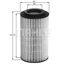 MAHLE OX153D1 (9117321 / 5650319 / 90570368) фильтр масляный