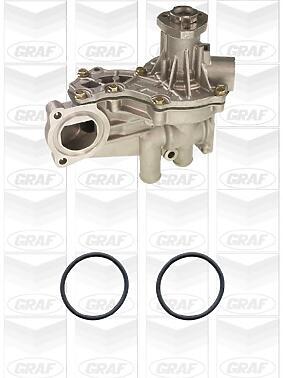 Насос охлаждающей жидкости AUDI/VW 1.6/1.8/1.9TD/2.0 >99 (с корпусом/усиленное оснащение)