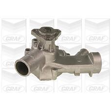 GRAF PA233 (060121011 / 048121011 / 060121010X) насос охлаждающей жидкости Audi (Ауди) 100 / VW lt 2.0 >83