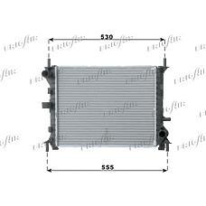 FRIGAIR 0105.3056 (1061185 / 1132658 / 98AB8005JC) радиатор системы охлаждения Ford (Форд) Focus (Фокус) 1.4 / 1.6 16v 98>