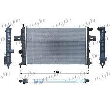 FRIGAIR 0107.3063 (1300198 / 1300215 / 1300208) радиатор системы охлаждения\ Opel (Опель) Astra (Астра) / Zafira (Зафира) 1.7td / 2.0dti 98-00
