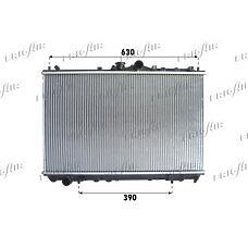 FRIGAIR 0116.3027 (MB925637 / MR299522 / MR385514) радиатор системы охлаждения\ Mitsubishi (Мицубиси) Carisma (Каризма) 1.6 / 1.8 16v 95>