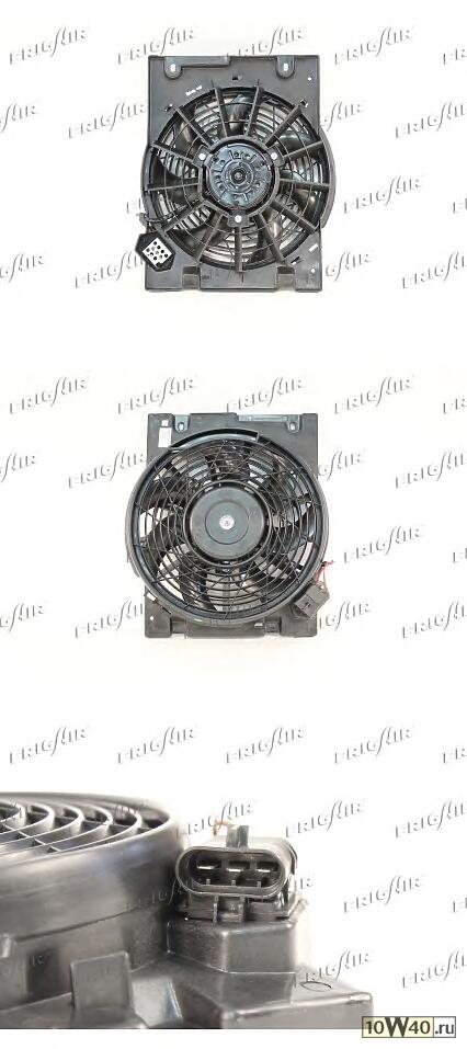 вентилятор охлаждения\ opel astra g 2.0 98-05