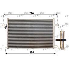 FRIGAIR 08313014 (96484931 / 96804274 / 96837834) радиатор кондиционера Chevrolet (Шевроле) Lacetti (Лачети) / nubira 1.4-1.8 05>