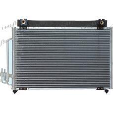 FRIGAIR 0833.3001 (0K01118381A / 0K30C61480C / OK30C61480C) радиатор конд.\ Kia (Киа) Rio (Рио) 1.3-1.5 00>