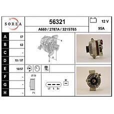EAI 56321 (93BB10300FF / 93BB10300FD / 93BB10300FE) генератор 95a\ Ford (Форд) Mondeo (Мондео) 1.8td 96-00