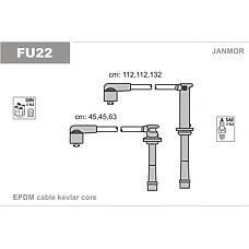 JANMOR FU22 (ZE2818140) комплект высоковольтных проводов