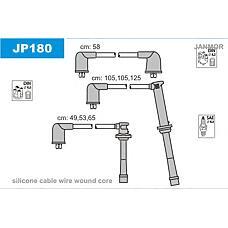 JANMOR JP180 (ZE3118140) комплект высоковольтных проводов