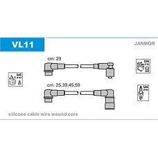 JANMOR VL11 (VL11) высоковольт.провода ком кт