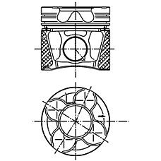 KOLBENSCHMIDT 99776630 (99776630 / 99776630_KS) поршнекомплект vag a4 / 6 / 8 / Passat (Пассат) 2.5tdi 1-3cyl. +0.50 -03