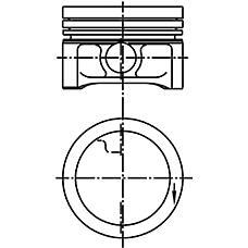 KOLBENSCHMIDT 99927610  поршень двигателя