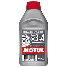 MOTUL 102718  тормозная жидкость dot 3 & 4 brake fluid 0,5л