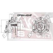 ASVA OPWHASHF (1603253 / 93178651 / 160325393178651) ступица передняя с датчиком абс