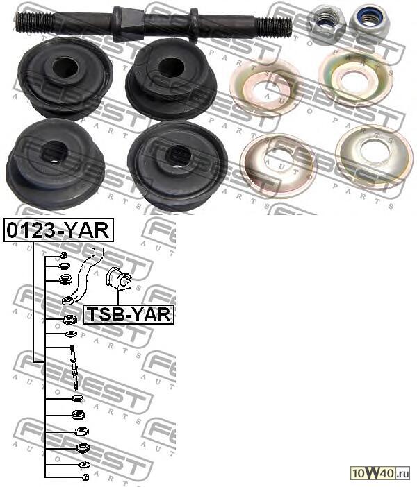 тяга стабилизатора передняя (toyota vitz ncp1 / scp1 1999-2005) febest