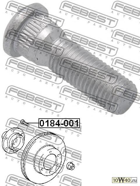 Шпилька Колёсная (Toyota Mark 2/Chaser/Cresta Gx90 1992-1996)