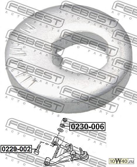 эксцентрик (nissan primera p12 2001-2007) febest