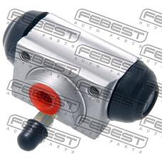 FEBEST 0278-k12 (44100AX600 / 44100BH00A / 44100AX60044100BH00A) цилиндр тормозной задний (Nissan (Ниссан) Micra (Микра) march k12 2002-) febest