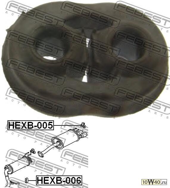кронштейн крепления глушителя honda cr-v re3 / re4 2007-2012