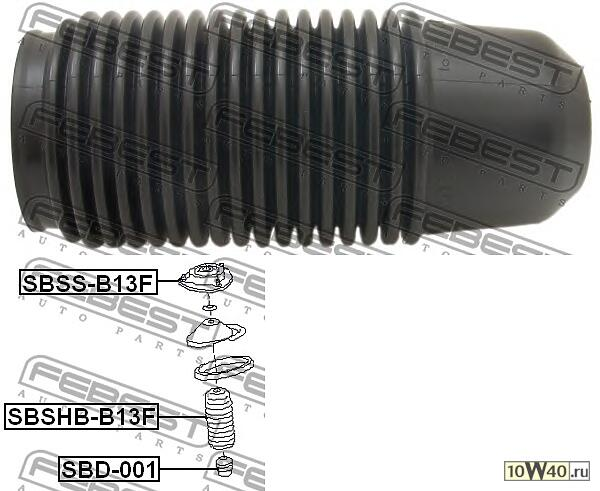 пыльник переднего амортизатора subaru impreza g12 2007-