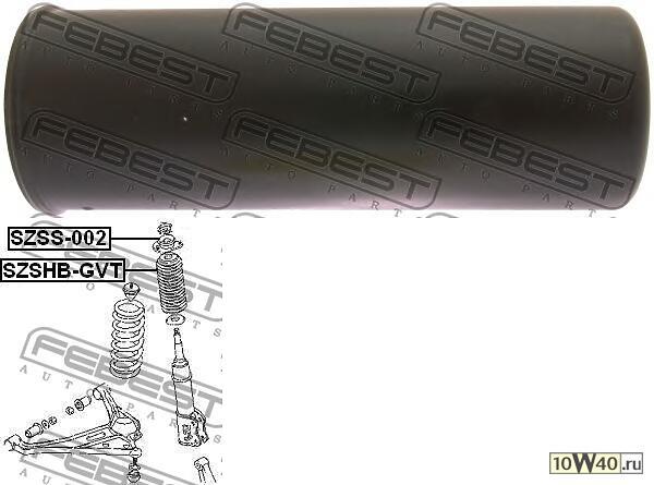 пыльник переднего амортизатора (suzuki grand vitara / escudo sq416 / sq420 / sq625 1998-2006) febest