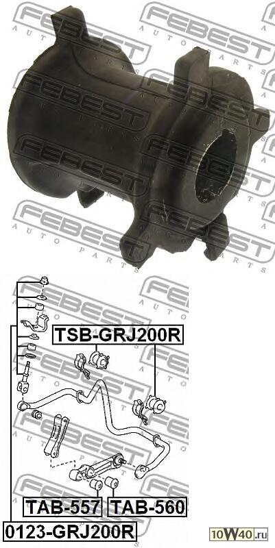 Втулка стабилизатора TSB-GRJ200R