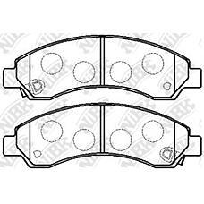 NIBK pn0502 (3501175K00J) колодки тормозные дисковые (передние) great wall hover 2.4l 06-