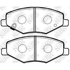 NIBK pn0503 (A216GN3501080BA / A116GN3501080 / A116GN35010800) колодки тормозные дисковые (передние) cherry amulet 1.8l 03-