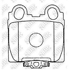 NIBK pn1421 (0446630120 / 0446630161 / 0446630190) колодки тормозные дисковые (задние) to altezza 98-05 aristo 94-04 brevis 01-07 crown 99-07 crown